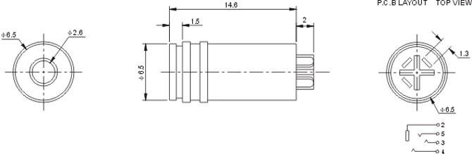 耳机简易电路图